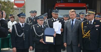 Ponowna wizyta ministra Błaszczaka